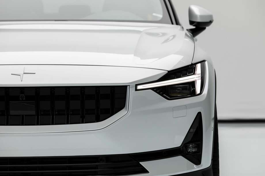 The Polestar 2 is making its North American debut this weekend at Seattle's Space Needle. It will be available for public viewing on Saturday and Sunday, July 27 and 28 from 10 a.m. to 7 p.m. Photo: Courtesy Polestar