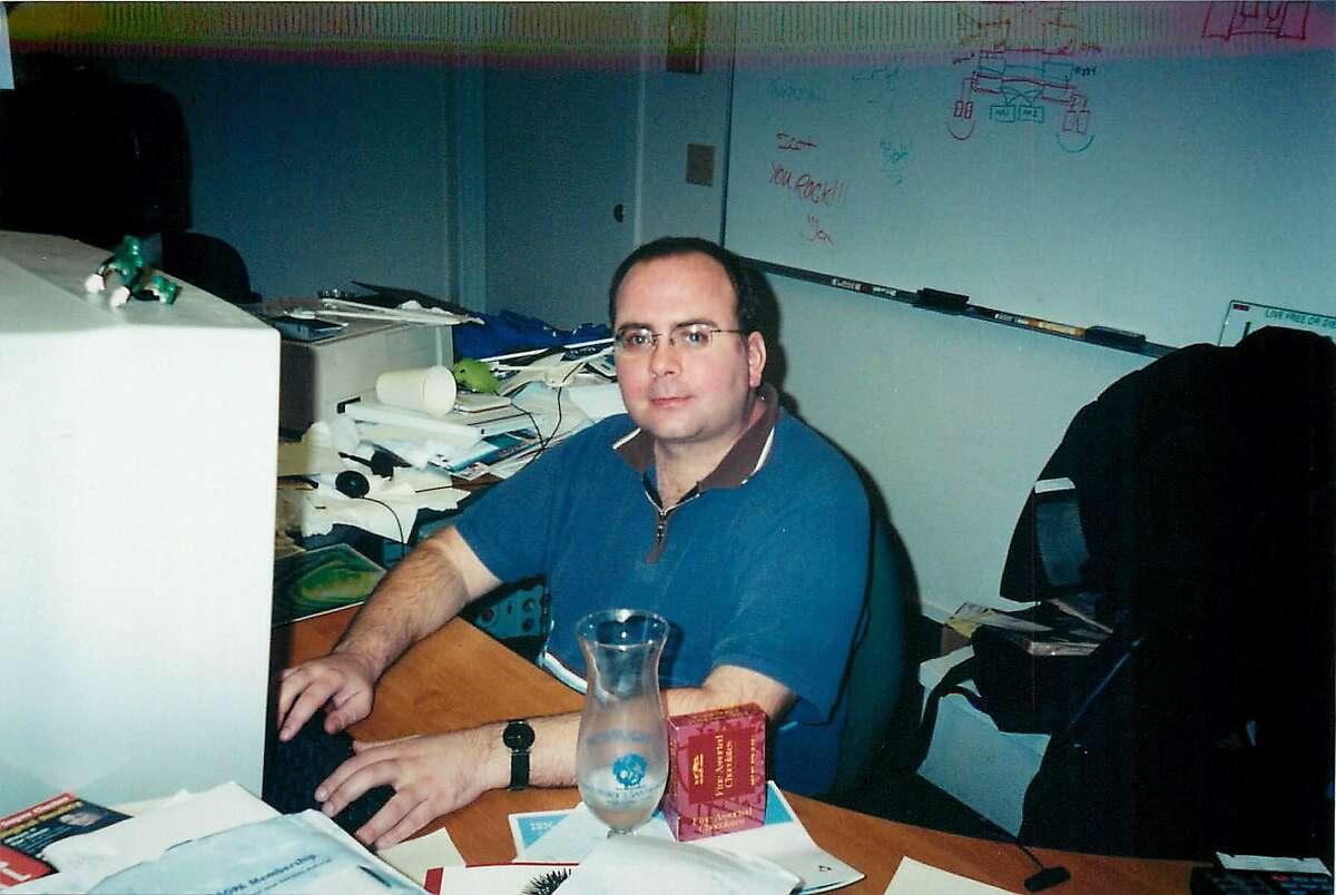 Sonic co-founder Scott Doty working in 2000.
