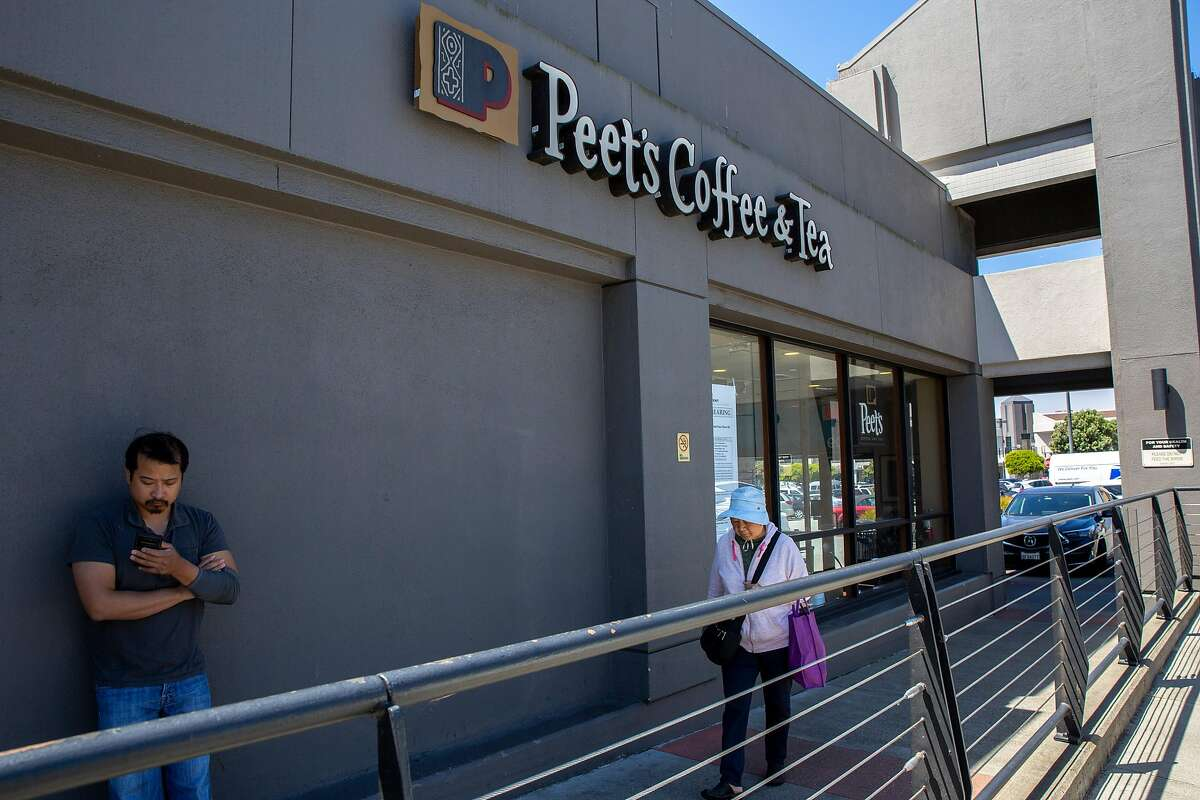 Peet's Coffee at 1509 Sloat Blvd. on Wednesday, July 24, 2019, in San Francisco, Calif.