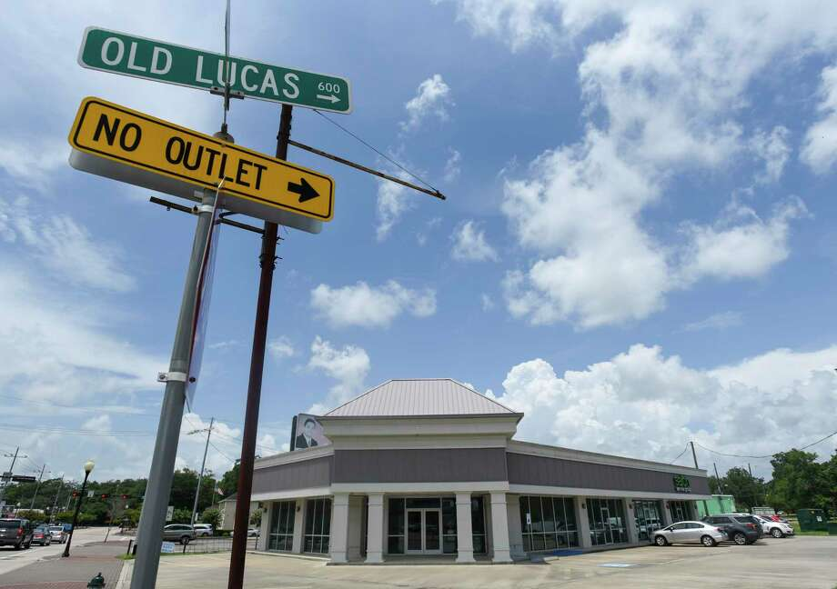 The location of a potential new upscale tequila bar on Calder Avenue Monday. Photo taken on Monday, 07/22/18. Ryan Welch/The Enterprise Photo: Ryan Welch, Beuamont Enterprise / The Enterprise / © 2019 Beaumont Enterprise