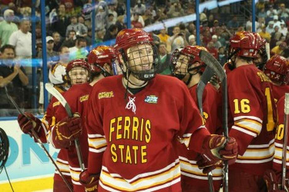 IN THE SPOTLIGHT: Andy Huff and Ferris State will appear on TV six times this season. (Pioneer file photo)