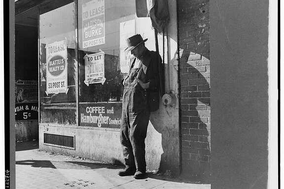 """Skid Row."" Howard Street, San Francisco, California - Feb. 1937"