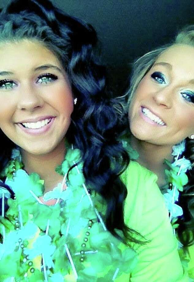 INSEPARABLE: Tara Felisky-Sylar (left) and her best friend, Bre Metcalf, spent time together every day. Metcalf was in disbelief when she got a phone call Saturday informing her Felisky-Sylar had died in a car accident that morning. Felisky-Sylar was the passenger riding with driver Grace Sudinski, who was treated for non-life threatening injuries. (Courtesy photo)