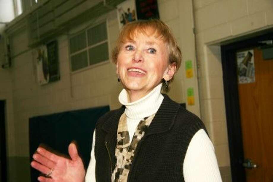 Hillcrest Elementary School teacher Ann Orange was chosen 2008 Citizen of the Year.