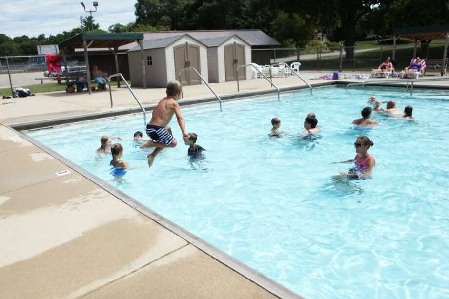 It's almost swimming season again in Big Rapids as the Charles E. Fairman Community Pool is set to open Monday, June 17. A variety of lessons and open swim sessions will be available throughout the season. (Pioneer file photo)