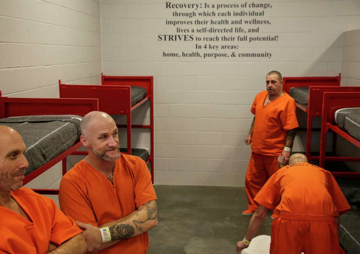 In January, the Harris County Jail's Chaplaincy Department identified over 300 male veterans in their custody and placed them in the Brothers in Arms program. Through this program, veterans in the jail will be able to live together and receive veteran-targeted resources and services. Photographed Thursday, July 25, 2019, in Houston.