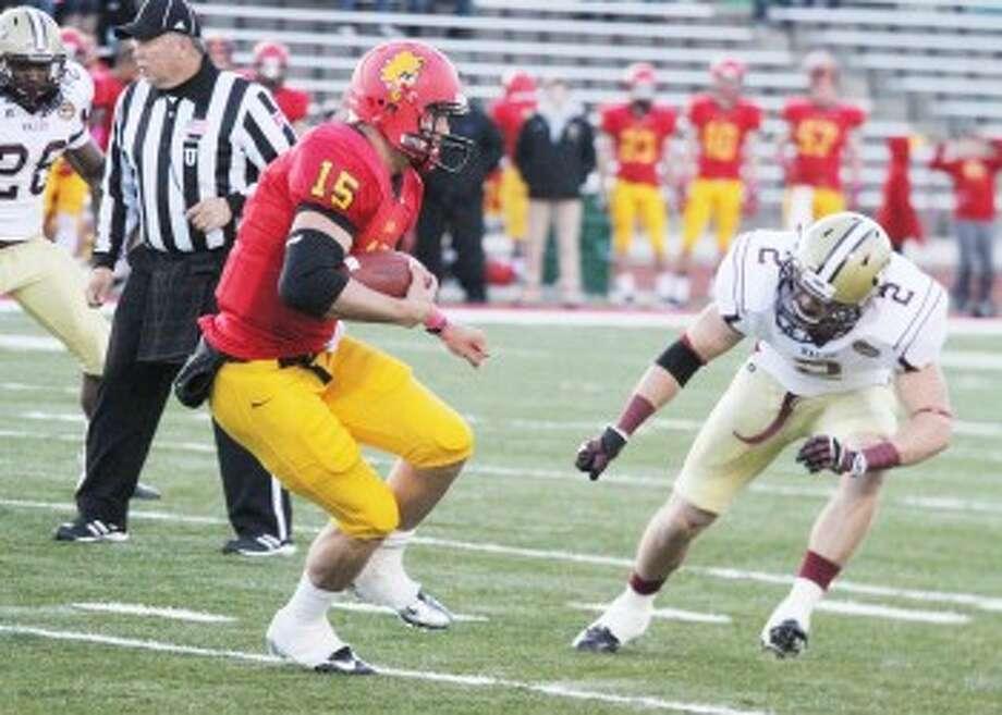 TOUGH TEST: FSU and quarterback Jason Vander Lann will face two-time defending FCS National Champion North Dakota State in the season opener. (Pioneer file photo)
