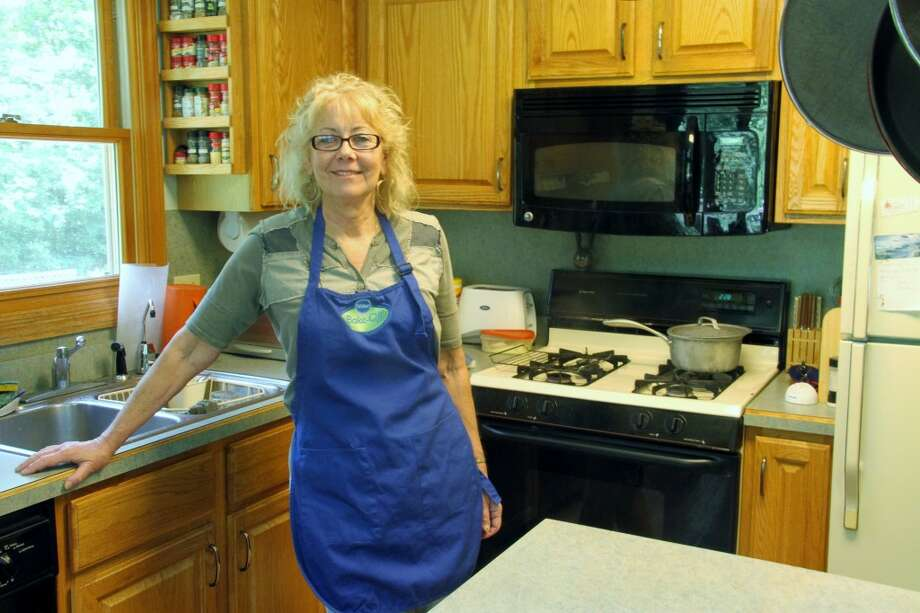 SURVIVOR: Sand Lake resident Sue Odren created her recipe for the Pillsbury bake-off contest while undergoing treatment for breast cancer this winter. (Pioneer photo/Lauren Fitch)