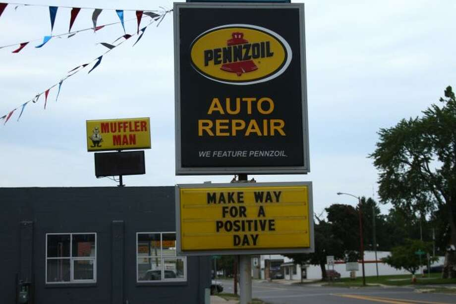 INSPIRATION: Carolann Wells owns Big Rapids Pennzoil and Auto Repair shop with her husband, Kim. One of their sons, Zac, manages the shop. (Pioneer photos/Meghan Haas)
