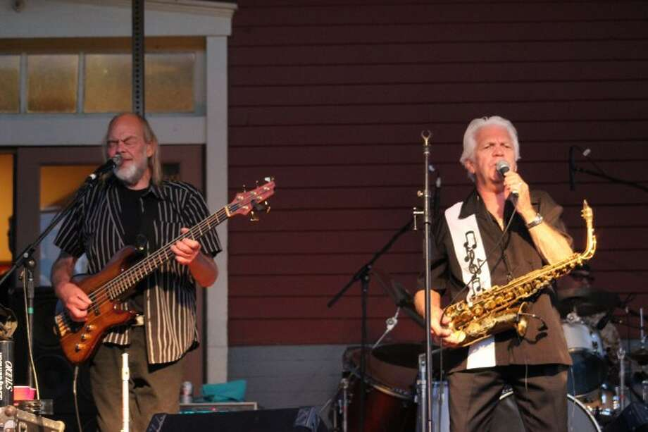 Rare Earth deliver seasoned classic rock to hundreds of Evart residents for the last show of the Evart Summer Concert Series. (Pioneer photo/Devin Anderson)