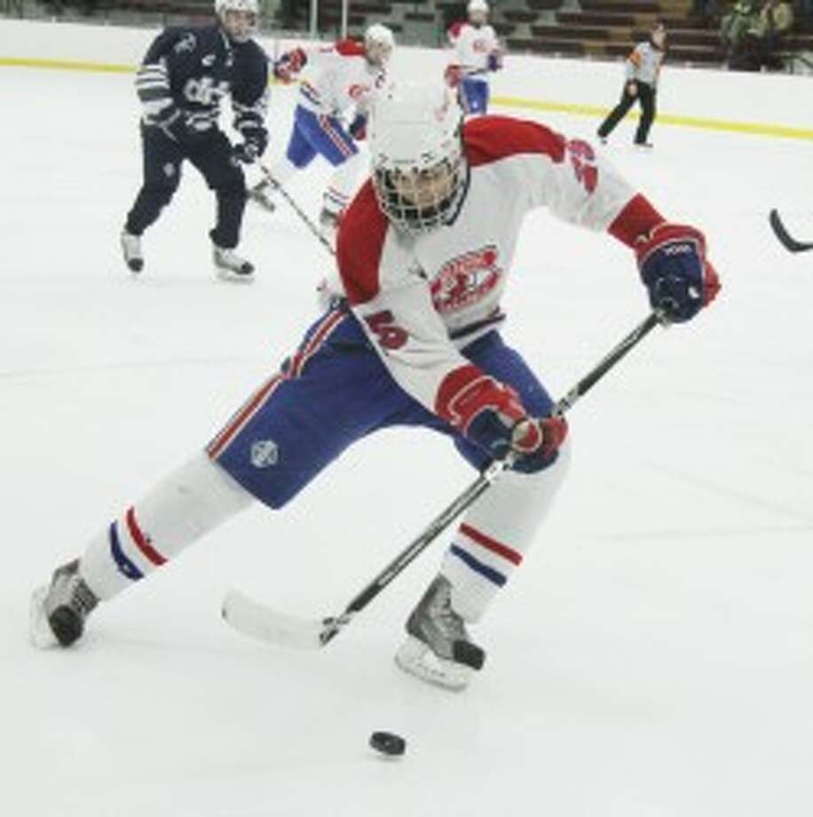 BACK HOME: Ferris State added former Big Rapids standout Seth Adams to its 2013 recruiting class after Adams spent time with the Des Moines Buccaneers of the USHL last season. (Pioneer file photo)