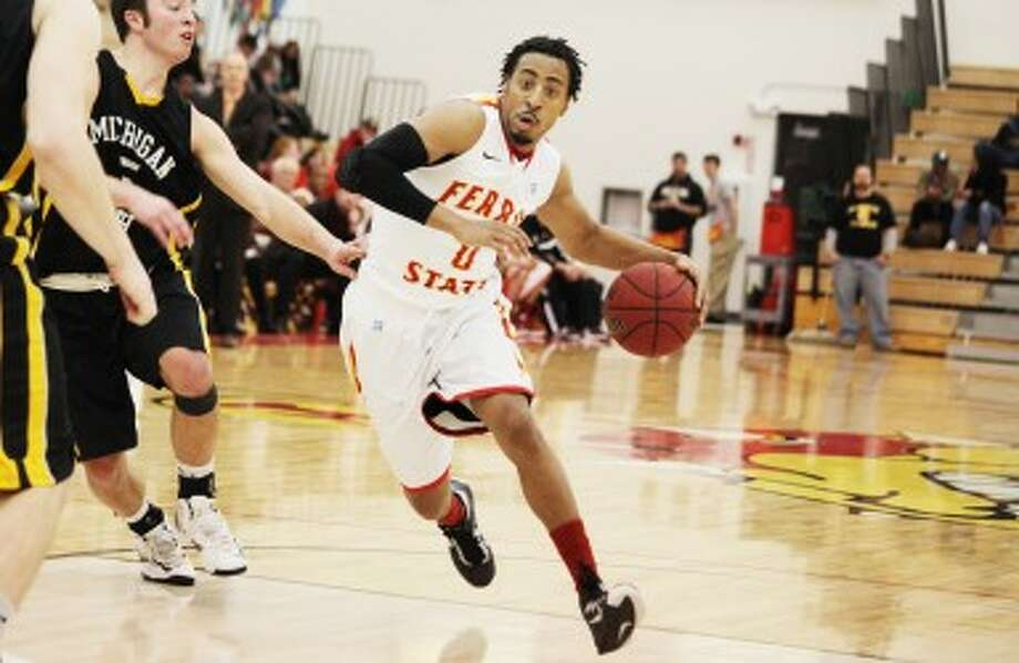THE JOURNEY: Former Ferris State guard Kenny Brown was in Auburn Hills on Tuesday and Wednesday working out for the Detroit Pistons on the eve of the 2013 NBA draft. (Pioneer file photo)