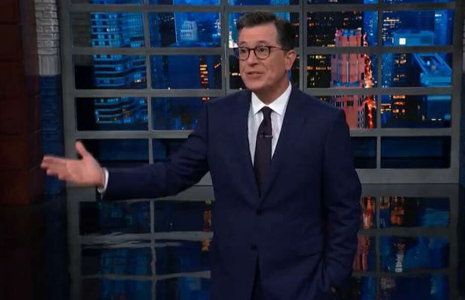 Stephen Colbert would most likely not invite President Trump onto his late night show.