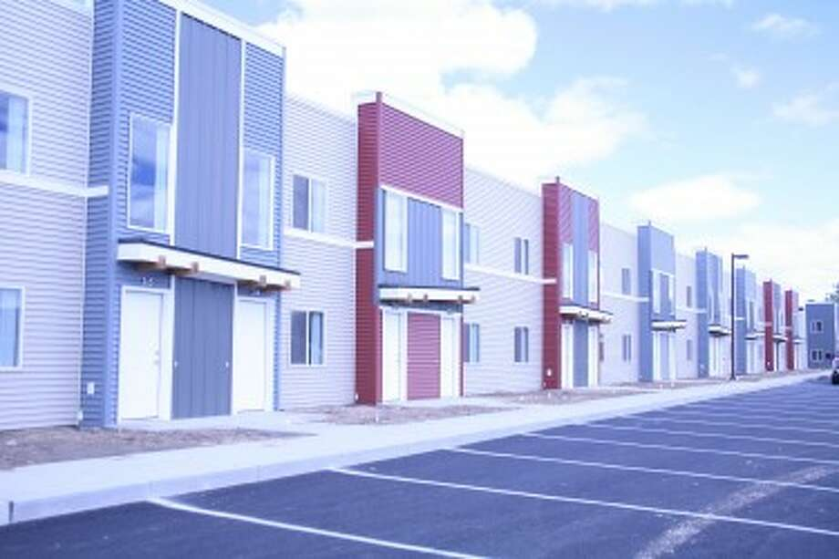 The new Northland Flats apartments. Pioneer Photo/Josh Roesner.