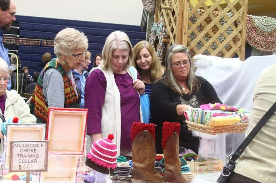 This year's annual Morley Stanwood Holiday Bazaar will be open from 10 a.m. to 3 p.m. on Saturday, Nov. 3, at the high school located at 4700 Northland Drive, Morley, and will offer shoppers an opportunity to peruse a wide variety of handcrafted items. (Pioneer file photo)
