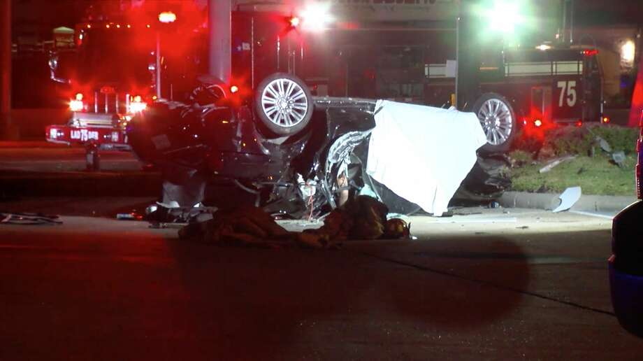 Driver who led police on high-speed chase dead after crashing along