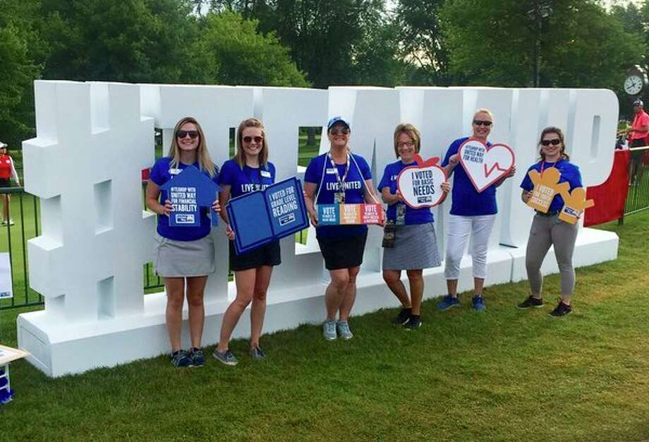 United Ways from the Great Lakes Bay Region collaborated to #TeamUp at the Dow Great Lakes Bay Invitational. (Photo Provided)