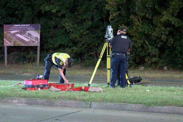 Husband dead, wife critical after motorcycle crash in