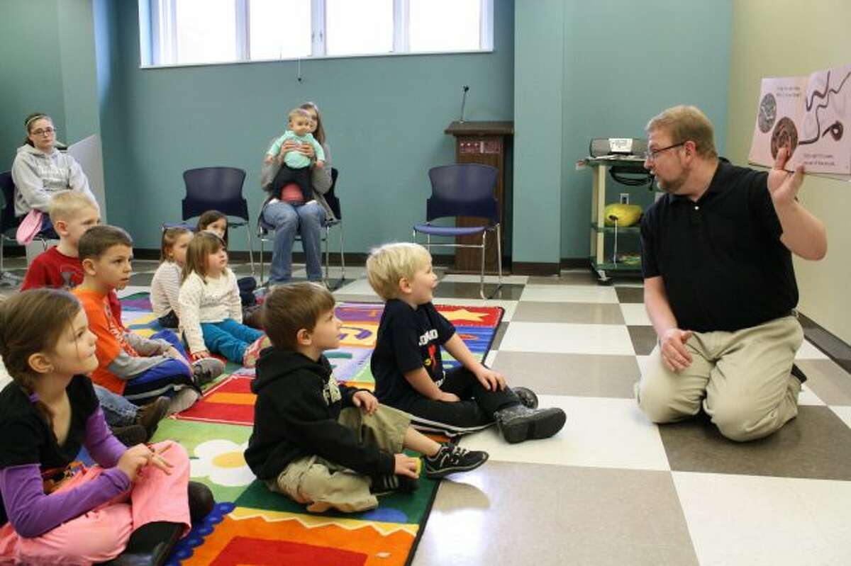 The Big Rapids Community Library will host story walk tours throughout the day on Friday, Feb. 1, for World Read Aloud Day. The tours will take place each hour from 11 a.m. to 4 p.m. at the library. (Pioneer file photo)