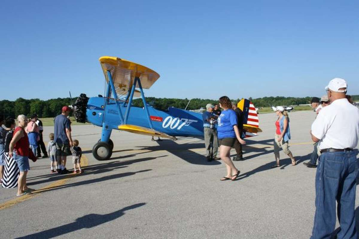 One of the popular events at Roben-Hood Airport is the annual Airfest, which takes place in June. The Big Rapids City Commission approved city management of the airport during Monday's meeting. Current fixed-base operator Colt Aviation's contract with the city expires Oct. 31. (Pioneer file photo)