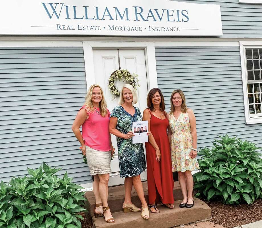 Huscher Group of William Raveis Real Estate in Middletown was recently honored by REAL Trends + Tom Ferry America's Best Real Estate Professionals. Photo: Contributed Photo