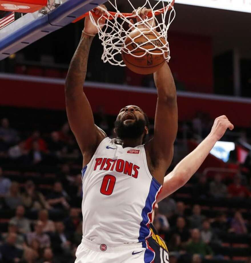 NBA Rumors: Mavericks Could Get Andre Drummond For Tim ...  |Andre Drummond Pistons Dunk