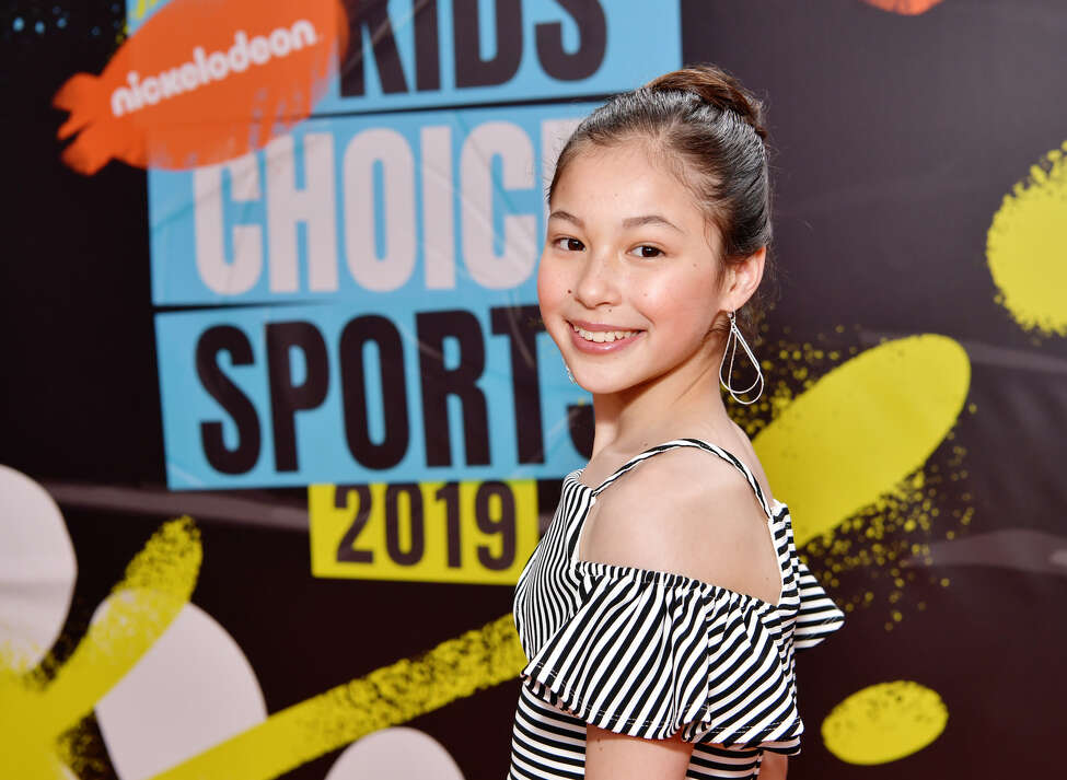 Alysa Liu attends Nickelodeon Kids' Choice Sports 2019 at Barker Hangar on July 11, 2019 in Santa Monica, California. (Photo by Emma McIntyre/Getty Images)
