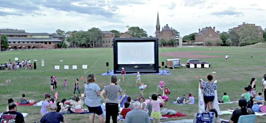 """Middletown Youth Services Bureaus is holding its annual Films on Foss summer movie program in Middletown. The event continues Saturday at 7 p.m. with a showing of """"Black Panther"""" at Wesleyan University. Photo: Contributed Photo"""