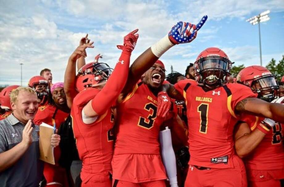 The Ferris State Bulldogs kick off the 2018 season against East Stroudsburg (Pa.) on Aug. 30. (Photo courtesy of Ferris State Athletics)