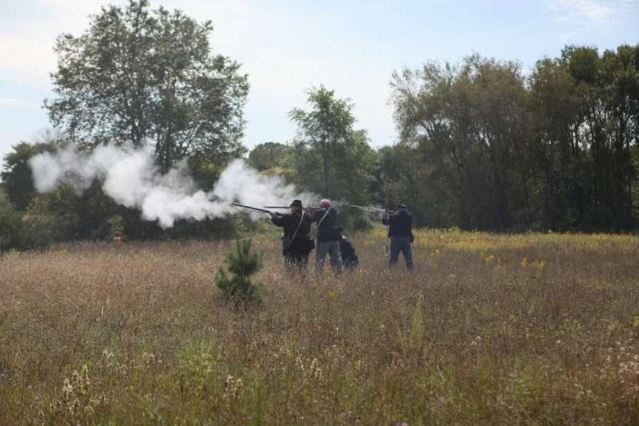 The Mid-Michigan Civil War Muster is coming back to Big Rapids Saturday, Aug. 17 and Sunday, Aug. 18. The event will host a variety of activities, such as battle reenactments, rifle demonstrations and living history camps. (Pioneer file photo)