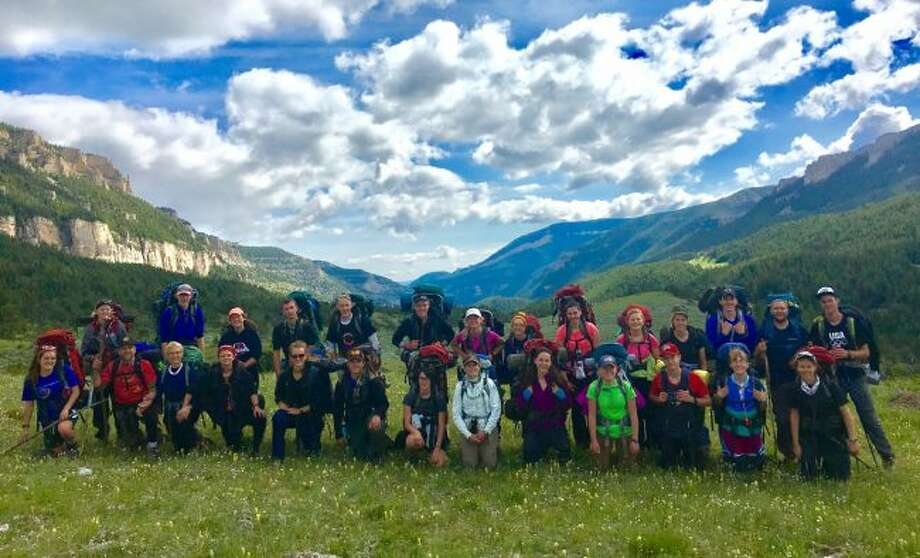 Powerhouse Youth Ministry of Trinity Fellowship Evangelical Free Church took a group of 26 teens and leaders hiking in the Big Horn Mountains in northeastern Wyoming. (Courtesy photo)