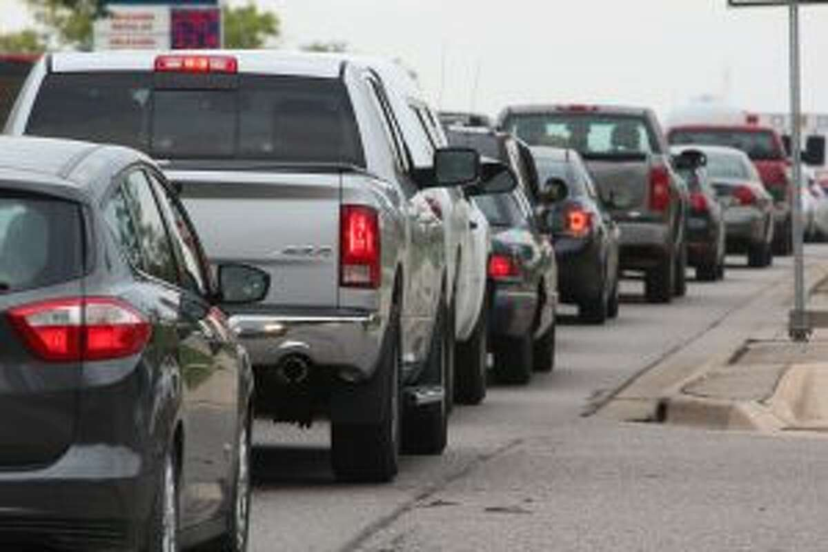 As Ferris State University students settle into Big Rapids again, law enforcement officials want to remind drivers to be cautious while driving on South State Street during peak times. (Pioneer photo/Brandon Fountain)