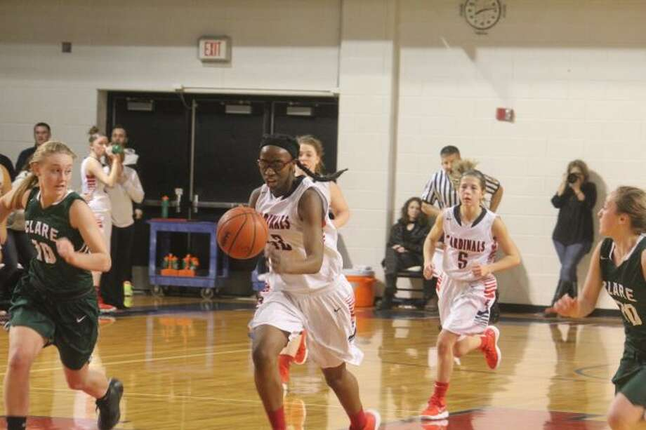 Big Rapids Jayla Strickland has earned all-state honors from BCAM. (Pioneer file photo)