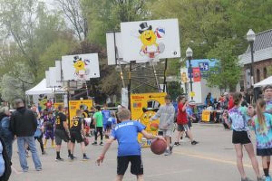 It was Mackerville in downtown Big Rapids on Saturday and Sunday.