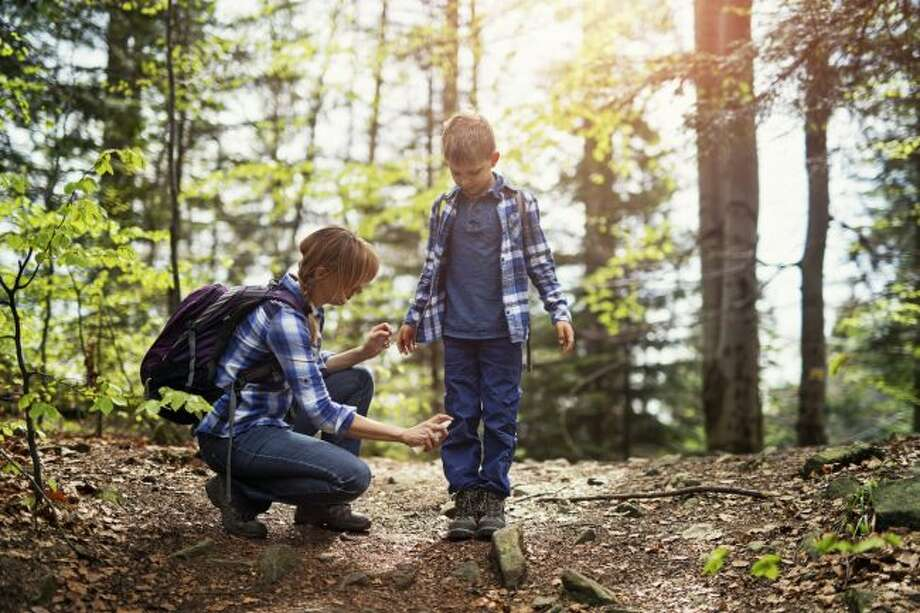Whether camping, going to the park or just spending time in the backyard, area residents are encouraged to be vigilant about avoiding mosquito bites this summer. A couple steps to take to protect against bites are to wear long-sleeved clothes and use an insect repellent. (Courtesy photo)