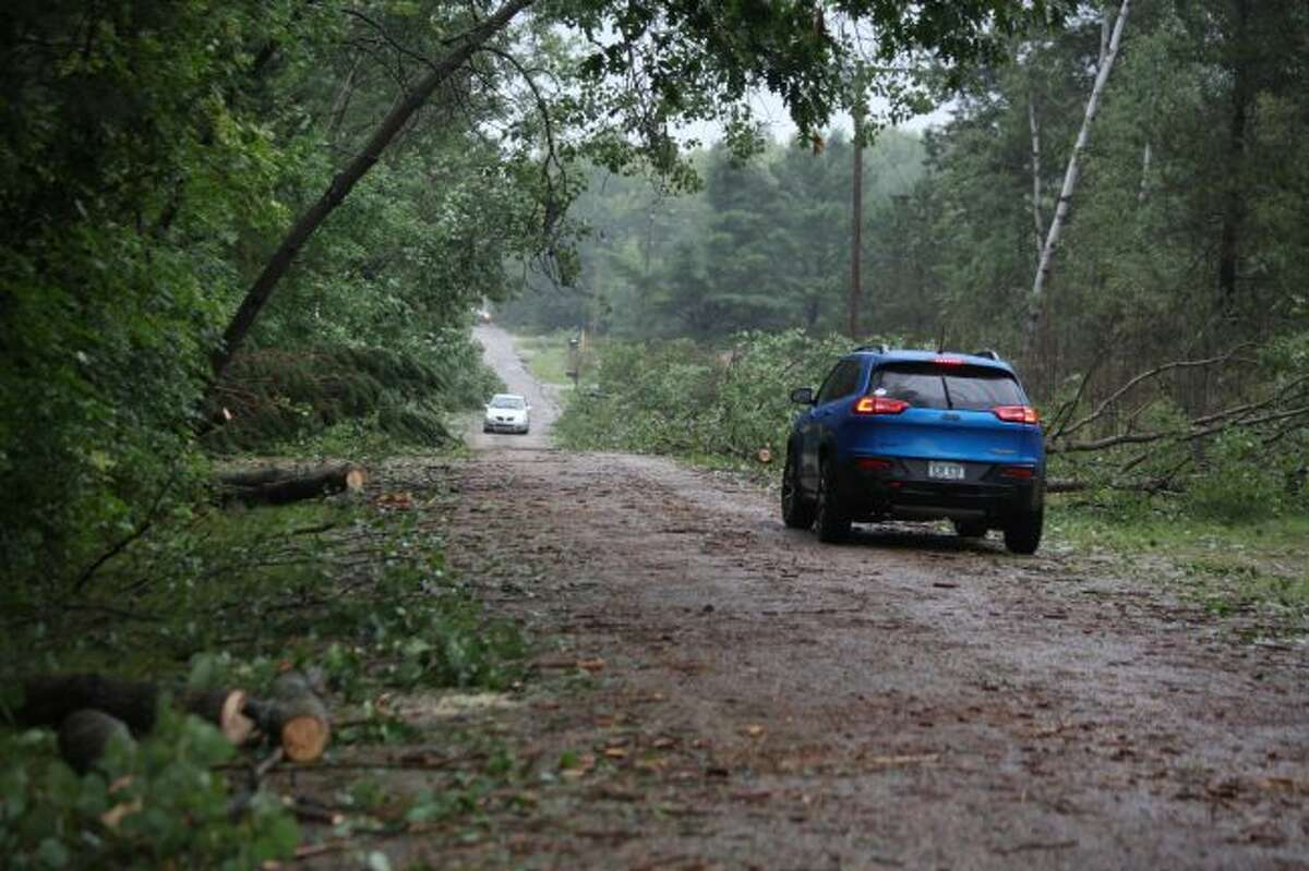 There were widespread reports of downed trees and power lines throughout Mecosta and Osceola counties after a storm with high winds rolled through the area last week. Federal, state and local officials urge residents to be prepared for emergencies and severe weather. (Pioneer file photo)