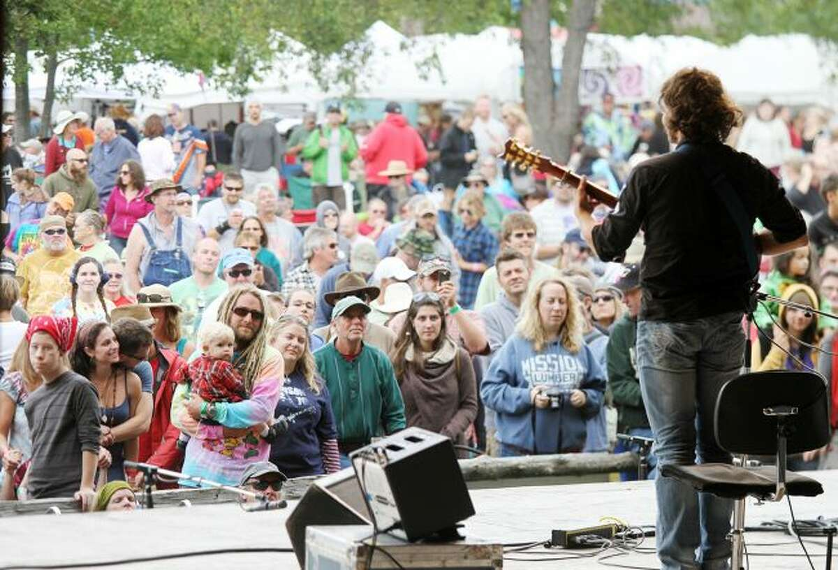 Thousands of people are expected to gather for the Wheatland Music Festival from Friday, Sept. 7, to Sunday, Sept. 9, for a weekend of music, art and more. Performers will take to three different stages throughout the event to perform a wide variety of musical genres. (Pioneer file photo)