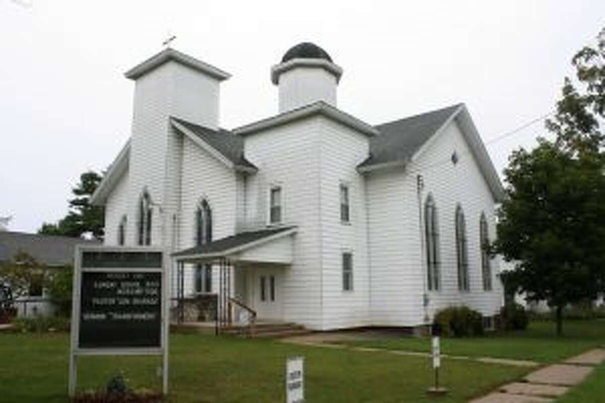 The congregation of Hersey United Methodist Church will celebrate their 150th anniversary on Sunday, Sept. 10. (Pioneer photo/Candy Allan)