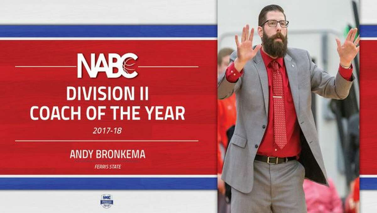 Andy Bronema (above) guided Ferris State to a 38-1 record and a national championship this season. (Photo courtesy of Ferris State Athletics)