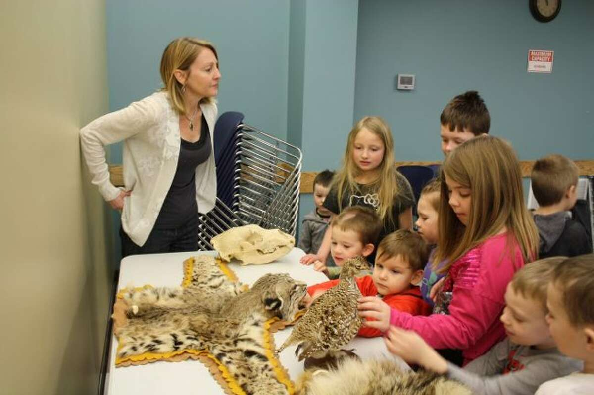 The Card Wildlife Education Center, located on Ferris State University's campus, features tanned hides, skulls and taxidermied animals, offering visitors the opportunity to get face-to-face with lions, wolves, bears and much more. (Pioneer file photo)