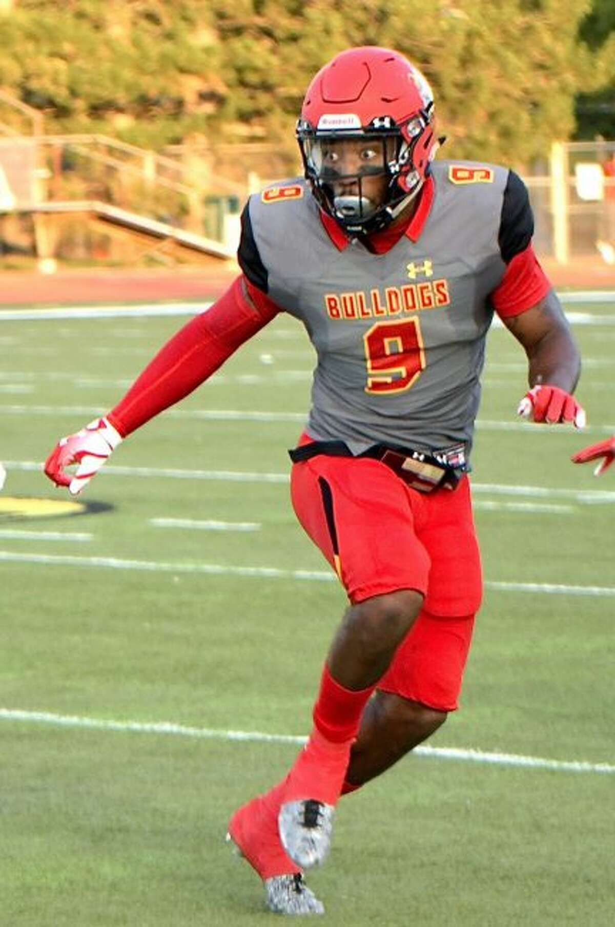 DeShaunThrower was the GLIAC Defensive Player of The Week in Week 1. (Photo Courtesy of Ferris State Athletics)