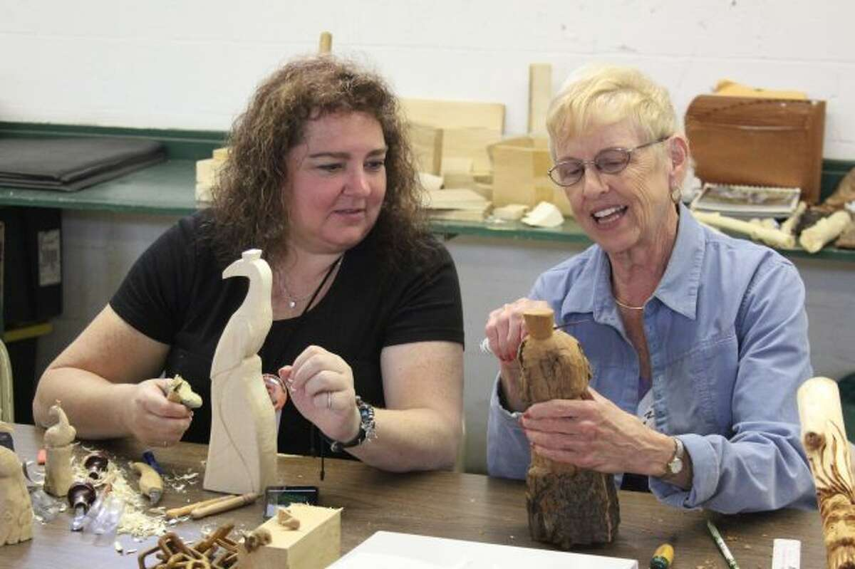 Hundreds of woodcarving enthusiasts will descend upon Evart this week for the annual Woodcarvers Roundup. Workshops and events are scheduled from Wednesday, June 5, through noon on Saturday, June 8. (Pioneer file photos)