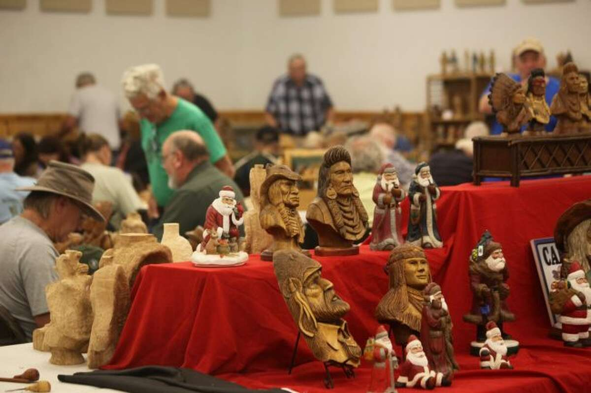 A variety of woodcarving workshops and vendors will be set up throughout the Osceola County Fairgrounds this week. Workshops will include power carving, wood burning, carving in bark and more.