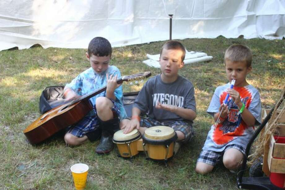 Kids got to jam together. (Pioneer photo/Shanna Avery)