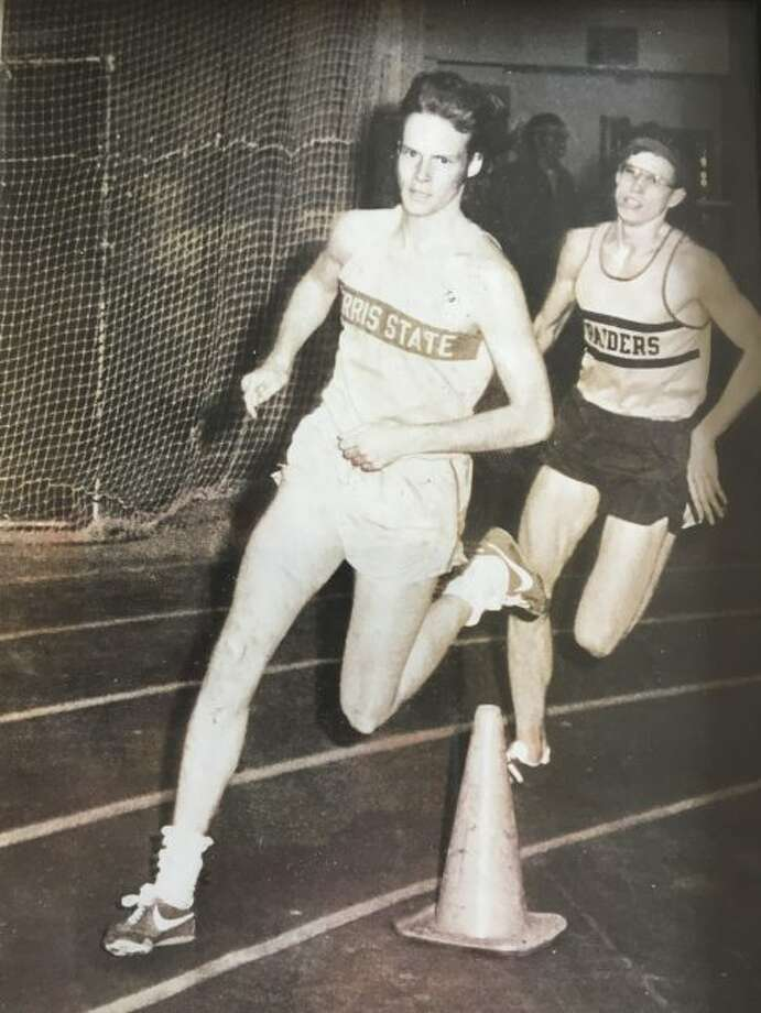 Steve Fountain became a NAIA All-American during his Bulldog track and field/cross country career. (Pioneer courtesy photo)
