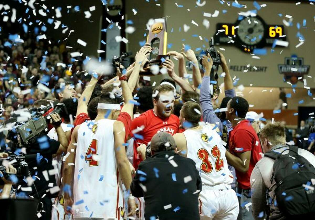 Ferris State men's basketball team finished 38-1 on the season. (Pioneer photo/Dave Eggen)