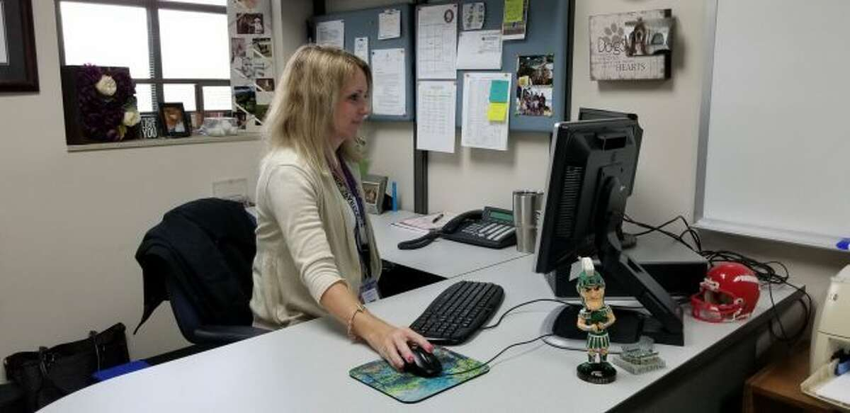 Jennifer Huntoon, Chippewa Hills Intermediate School's new assistant principal, is looking forward to working with students and their families during her first year in the district. (Pioneer photo/Meghan Gunther-Haas)