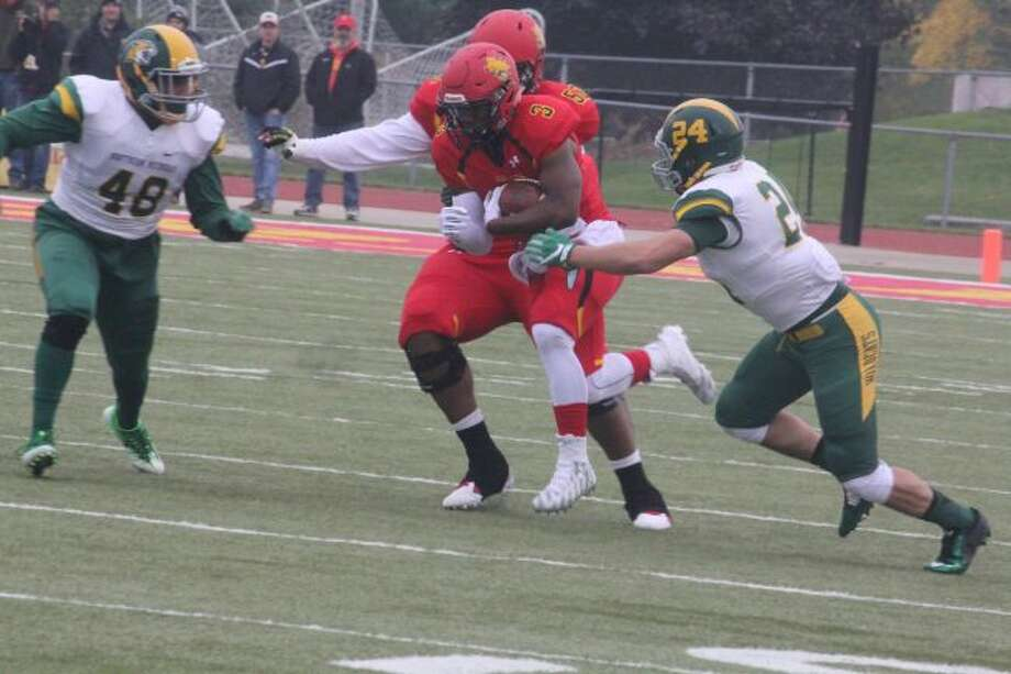 Ferris' annual spring football game is set for Saturday.(Pioneer file photo)