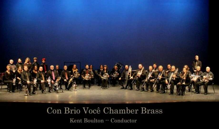 Con Brio Voce Chamber Brass will begin its upcoming performance at 4 p.m. on Sunday, April 11, at the Big Rapids High School Auditorium. (Courtesy photo)
