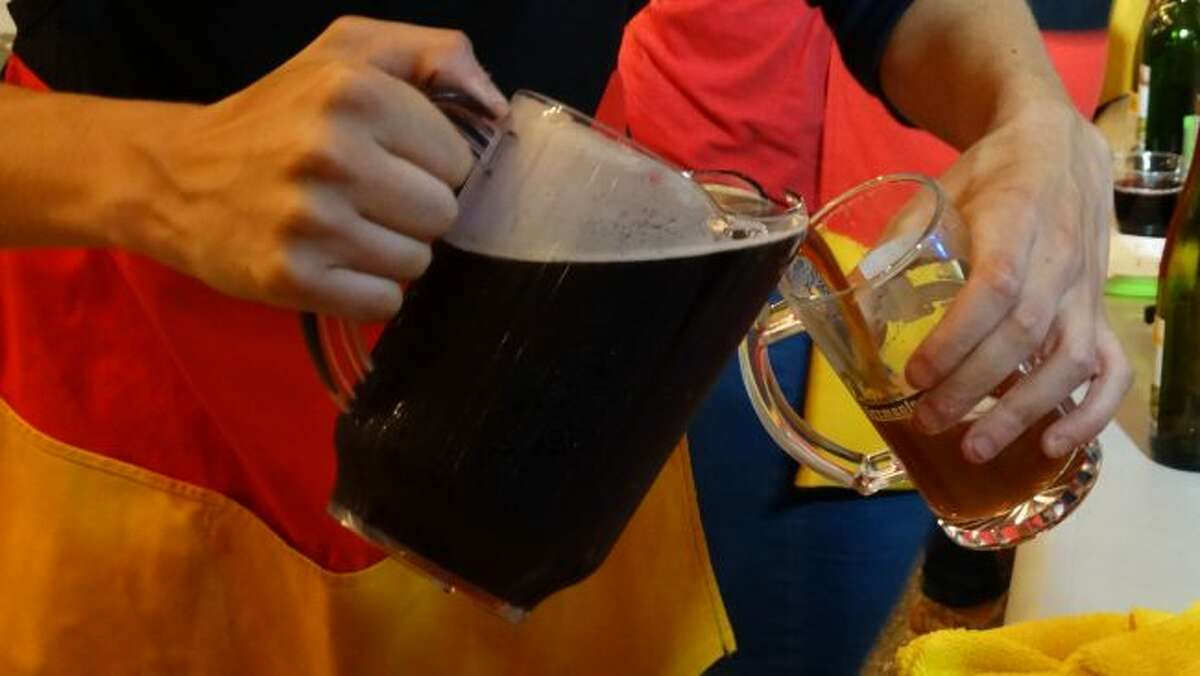 Among the options for beer enthusiasts at Germanfest was Dunkel, a dark beer characterized by a smooth, malty flavor.